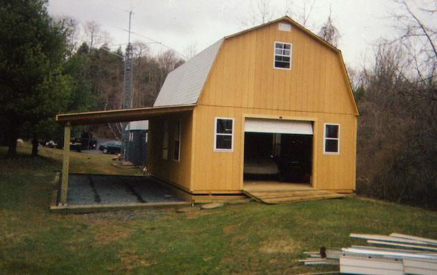 Barns - Custom Built Barn