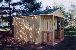Custom Sheds Built On-Site 15
